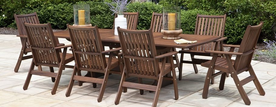 Jensen Leisure Ipe Wood Outdoor Furniture Porch And Patio