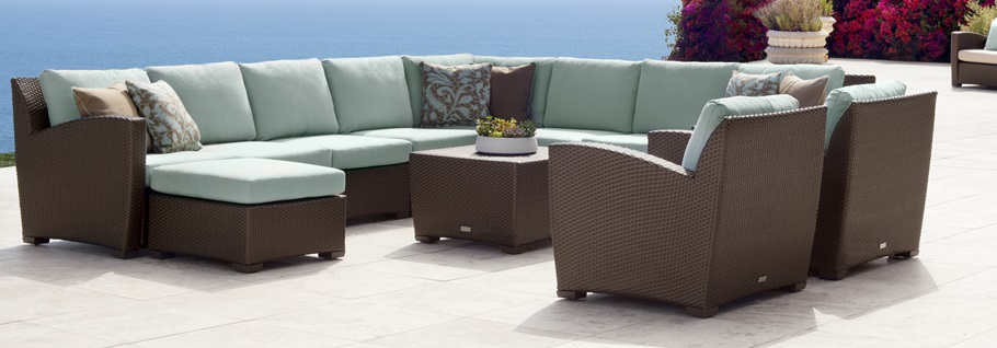 the brown jordan fusion wicker seating collection