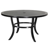 "Gensun Channel 53"" Round Dining Table"