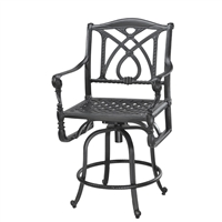 Gensun Grand Terrace Swivel Balcony Stool