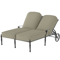 Gensun Grand Terrace Double Chaise Lounge