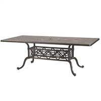 "Gensun Grand Terrace  42"" x 86"" Rectangular Dining Table"