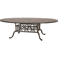 "Gensun Grand Terrace  60"" x 80"" Geo Dining Table"