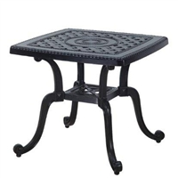 "Grand Terrace  24"" Square End Table"