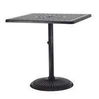 "Gensun Grand Terrace 36"" Square Dining Table"