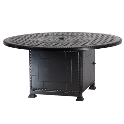 Gensun Grand Terrace Round Fire Pit w/ Paradise Base