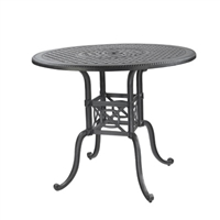 "Gensun Grand Terrace  54"" Round Balcony Table"