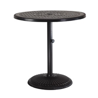 "Gensun Grand Terrace  36"" Round Pedestal Balcony Table"