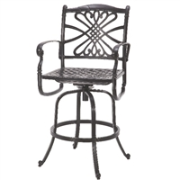 Gensun Bella Vista Swivel Bar Stool