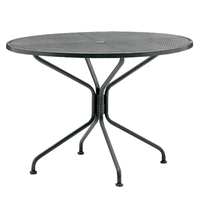 "Woodard 48"" Round Umbrella Table"