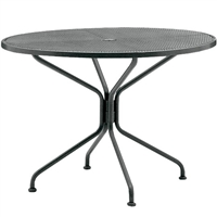 "Woodard 42"" Round Umbrella Table"