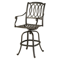Hanamint Mayfair Swivel Bar Stool