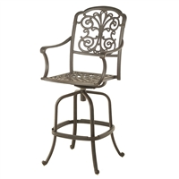 Hanamint Bella Swivel Bar Stool