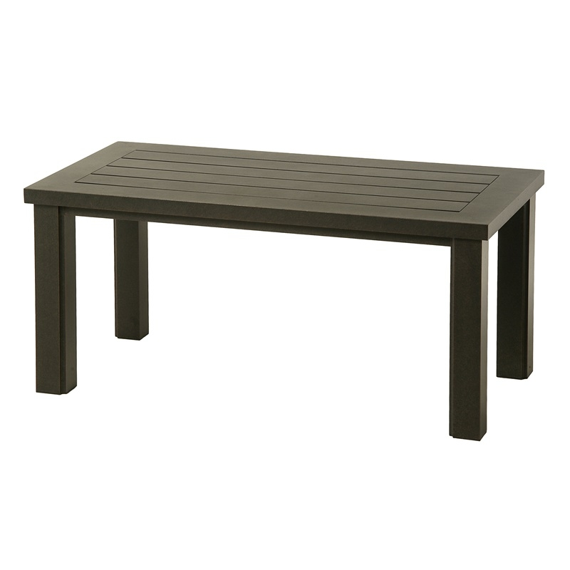 hanamint sherwood 24 x 48 retangular coffee table
