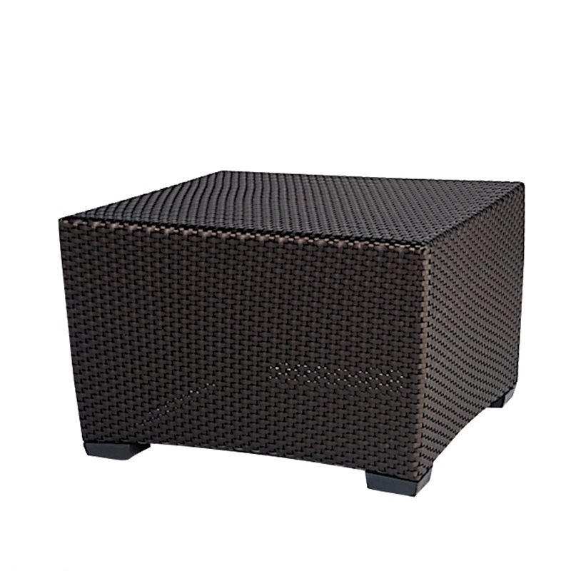 Brown Jordan Fusion 28 Quot Square Woven Coffee Table