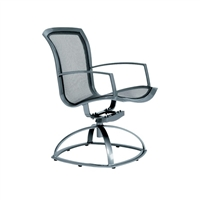 Brown Jordan Wave Swivel Rocker