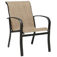 Woodard Fremont Stackable Dining Chair