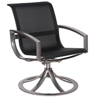 Woodard Metropolis Swivel Rocker