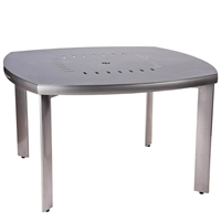 "Woodard 48"" Round Square Round Table"