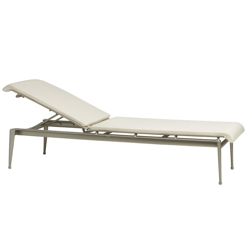 Brown jordan flight stacking adj chaise for Brown and jordan chaise