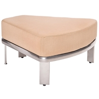 Woodard Metropolis Sectional Wedge Ottoman