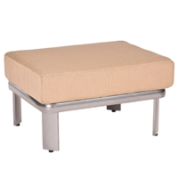 Woodard Metropolis Sectional Square Ottoman