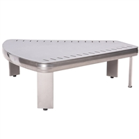 Woodard Metropolis Sectional Wedge Table