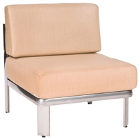 Woodard Metropolis Armless Chair