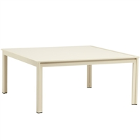 "Brown Jordan Swim 45"" Square Aluminum Table"