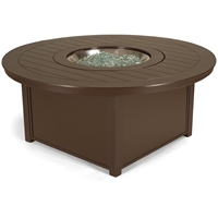 "Telescope 54"" Round Fire Table"