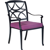 Woodard Wiltshire Dining Arm Chair