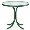 "Telescope 30"" Round Dining Table w/o hole"