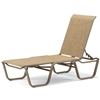 Telescope Aruba II Sling Stacking Armless Chaise
