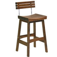 Jensen Leisure Sunset Stool With Back