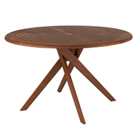 "Jensen Leisure Topaz 48"" Round Dining Table"