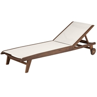 Jensen Leisure Topaz Sling Chaise Lounge