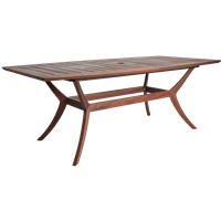"Jensen Leisure Laguna 44"" x 84"" Table"