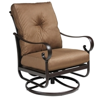 Hanamint Santa Barbara Club Swivel Rocker