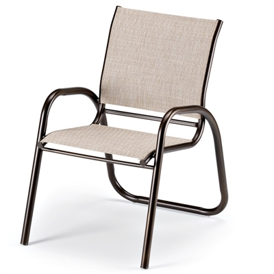 Telescope Gardenella Sling Stacking Cafe Chair