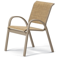 Telescope Aruba II Sling Stacking Cafe Chair
