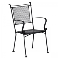Woodard Bradford Stackable Dining Arm Chair