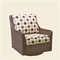 Patio Renaissance Catalina High Back DS Swivel Glider