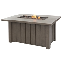 "Ebel 50"" X 32"" Rect Trevi Fire Pit"