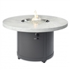 "Outdoor Greatroom 48"" Rd White Onyx Beacon Fire Pit"