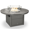 "Polywood 48"" Round Fire Pit"