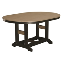 "Berlin Gardens 64"" Oval Garden Classic Dining Table"