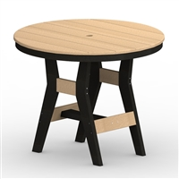 "Berlin Gardens 38"" Round Harbor Bar Table"