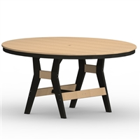 "Berlin Gardens 60"" Round Harbor Bar Table"