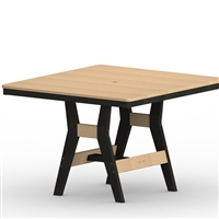 "Berlin Gardens 44"" Sq Harbor Counter Table"
