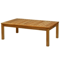 "Kingsley Bate Classic 38"" x 25"" Rect. Coffee Table"